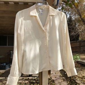 Talbots Silk blouse size 6